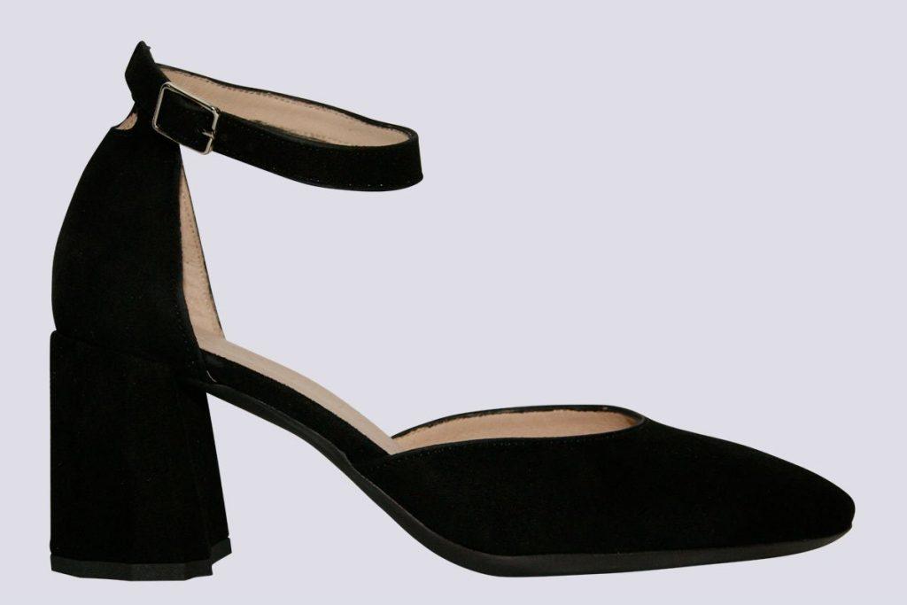 Suede-Block-Anklet